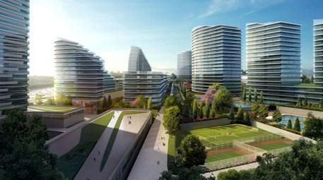 Batışehir, 108 bin metrekarelik yeşil alanıyla dikkat çekiyor