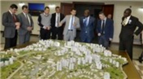 Liberya Heyeti Kuzey Ankara Kentsel Dönüşüm Proje Alanı'nı gezdi
