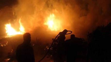 Kocaeli'de kimyasal üretim yapan bir fabrikada yangın çıktı
