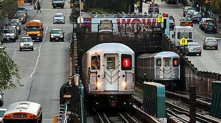 New York'taki nostaljik metro seferleri yoğun ilgi gördü