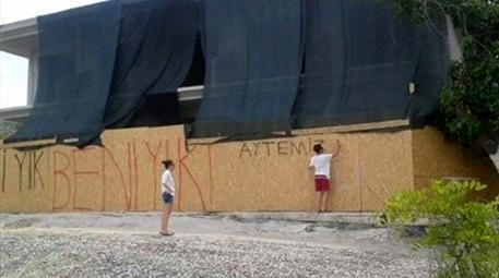 Marmaris'teki kaçak otel inşaatına isyan eden oyuncu kim