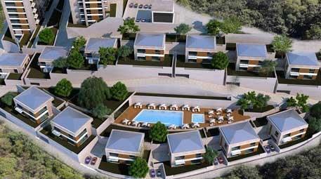 Bahçeşehir'in lüks projesi! Yeşiller içinde yükseliyor!