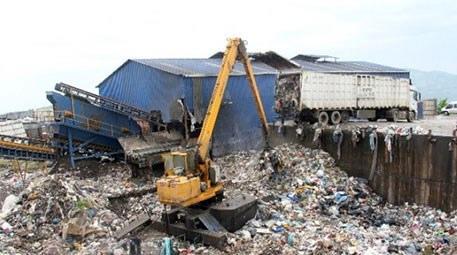 Samsun'da çöpteki organik atıktan enerji elde edilecek
