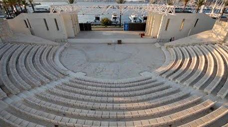 Gurbetçi iş kadını, Yozgat'ta bin 500 kişilik amfi tiyatro