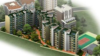 Kağıthane'de mimarisiyle dikkat çeken proje!