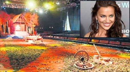 Irina Shayk Fashion Show için Antalya'ya geldi