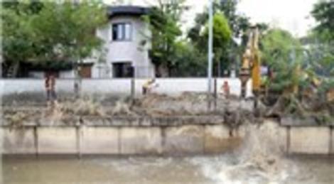 İBB'nin İstanbul Kurbağalıdere'deki ıslah çalışması devam ediyor