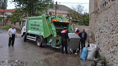Niğde'de köylerden çöp toplama devri başladı