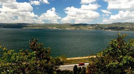 Sapanca Gölü'ndeki su seviyesinin artması bekleniyor