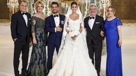 Buse Terim ve Volkan Bahçekapılı, Shangri-La Bosphorus'ta evlendi