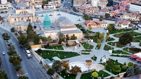 Konya'nın Mevlana bölgesinin çehresi değişiyor