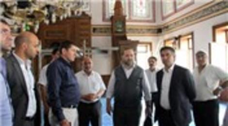 Esenler Belediyesi Allahu Ekber Camisi'nin yaralarını sarıyor