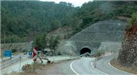 Dalaman Göcek Tüneli'nin 2. geçişinin 470 metresi açıldı