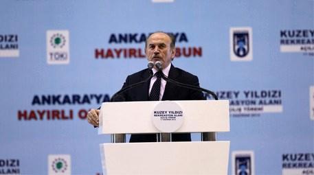 Ankara'nın kentsel dönüşüm projesi 'Kuzey Yıldızı' açıldı