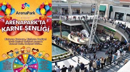 ArenaPark'ta tatile giren milyonlarca öğrenciye karne şenliği