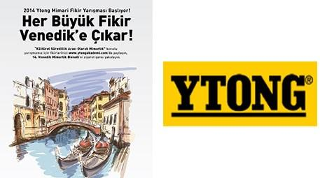 Ytong, 'Mimari Fikir Yarışması' ile bir ilke imza atıyor