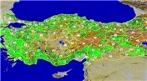 Tapu ve Kadastro Genel Müdürlüğü harita güncellemesi yaptıracak