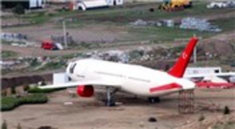 Çankırı'da Uçak Kütüphane'nin iç dizayn çalışmaları başladı