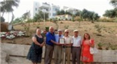 Datça'da 30 yıllık çöplük park oldu