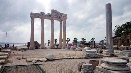Apollon Tapınağı tel örgülerden kurtuldu, giriş artık ücretsiz
