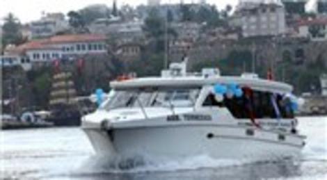 Antalya-Kemer deniz otobüsü seferleri yeniden başladı