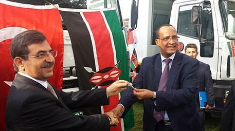 TİKA, Kenya'da çevre ve halk sağlığına destek veriyor