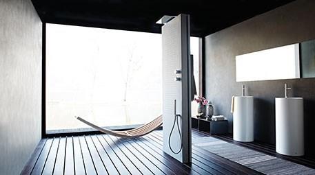 Suyla ışığın mimari sentezi: Acquapura duş paneli