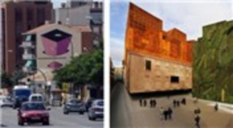 İspanya Madrid 'Kentsel Sanat Projesi' sokakları renklendirdi
