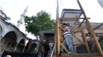 Eyüp Sultan Türbesi ramazanda kısmen ziyarete açıldı