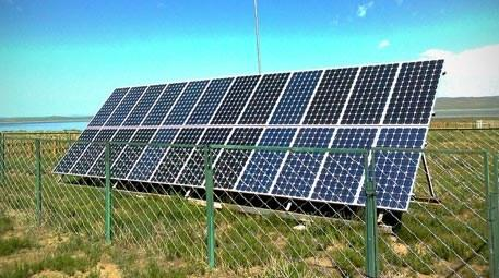 Orman köylüleri elektriğini güneş enerjisinden karşılayacak
