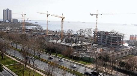 Ataköy sahilindeki bazı inşaatlar mühürlendi