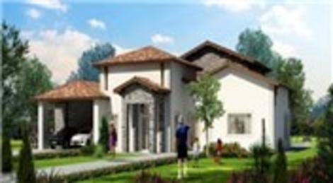 Büyükçekmece'de tek katlı villa yaşamı başlıyor!