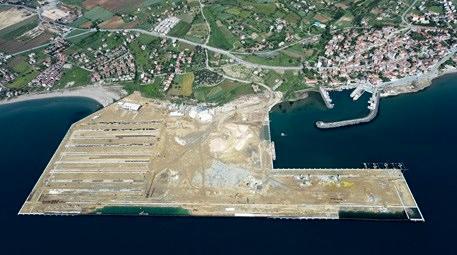Türkiye'nin en büyük konteyner limanı inşa ediliyor