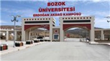 TOKİ'den Yozgat Bozok'a kampüs!