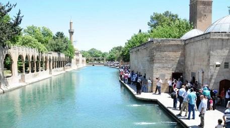 Ramazan ayında peygamberler şehri Şanlıurfa'ya ilgi yoğun!