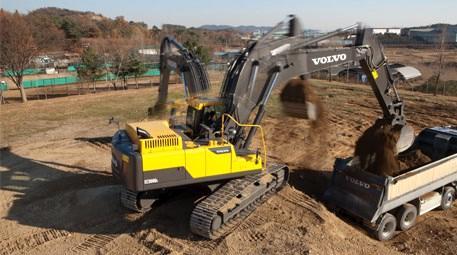 Maden dağı yolu Ziver İnşaat ve Volvo işbirliği ile yenilendi