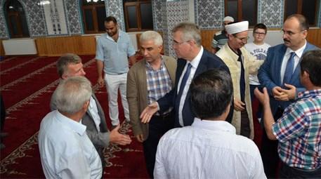 Çatalca'da Çanakça Camisi'nin açılışı yapıldı