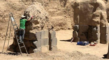 Van Ayanis Kalesi'ndeki kazı çalışmaları tarihe ışık tutuyor