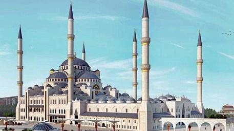 Çamlıca Cami inşaatında hafriyat çalışmaları tamamlanıyor