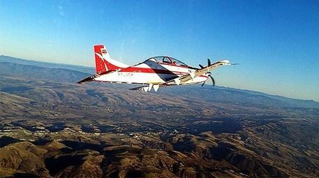 Yerli uçak HÜRKUŞ'a dünyanın ilgisi artıyor