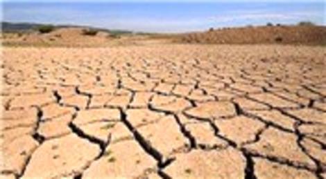 Yer altı suları azaldı, kuraklık baş gösterdi!