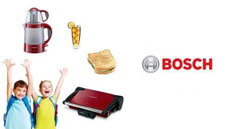 Bosch ile okula hazırlık sağlıklı ve lezzetli olacak
