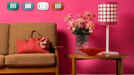 Bticino Axolute serisi dekoratif görünümüyle ışığınızı yansıtıyor
