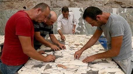 Yamaç Evler'deki 'puzzle' tarihe ışık tutacak
