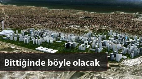 140 bin kişinin yaşayacağı bu yerde...