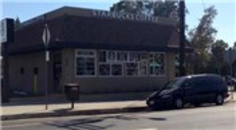 Starbucks'ın yeni şubesi korkuttu! İşte görüntüler…