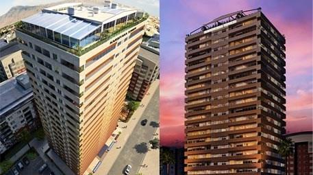 Karşıyaka Tower'da 310 bin TL'den başlayan fiyatlarla!