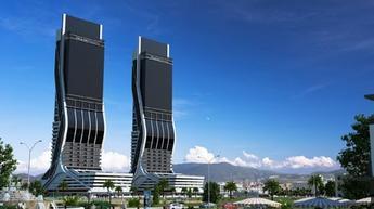 İkiz kuleler, sağlıklı yaşamın da merkezi olacak!