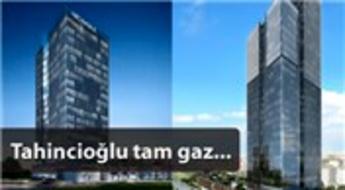 Ataşehir'e 190 ofislik yeni gökdelen!