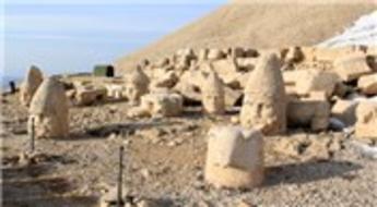 Nemrut Dağı heykelleri için 'panoramik' tedbir…